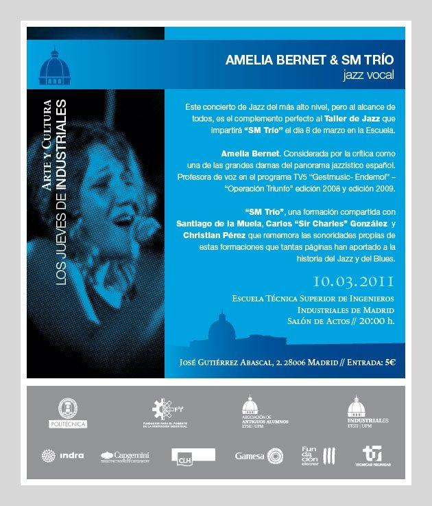 Imagen del concierto de AmeliaBernet & SMTrio