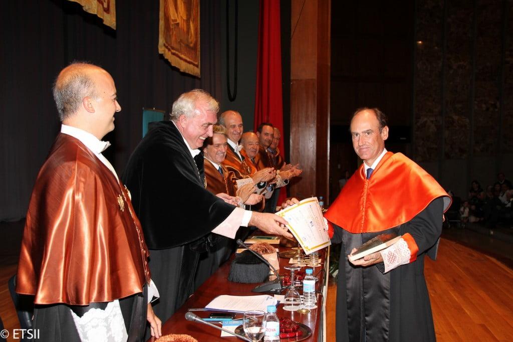 Premio Seijas y Lozano para Técnicas Reunidas. Recoge el premio su Vicepresidente D. Juan Lladó