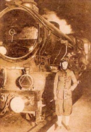 Primera Mujer en Conducir Un tren