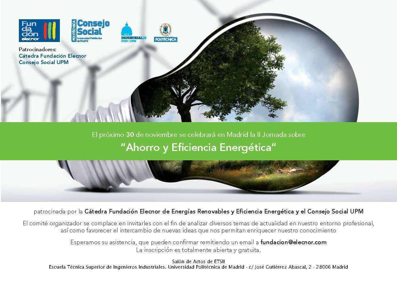 El Ahorro y la Eficiencia Energética, un debate de Ingenieros Industriales