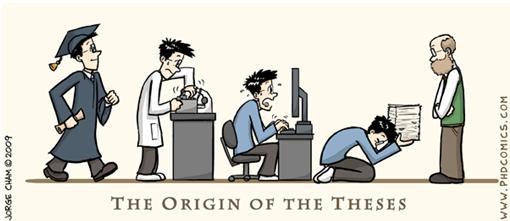 Imagen de la tira cómica phd