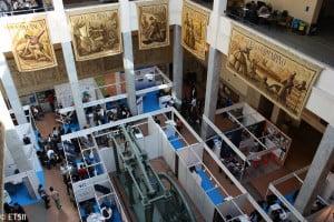 Imagen de la Fería de Empleo Induforum 2011 en ETSII