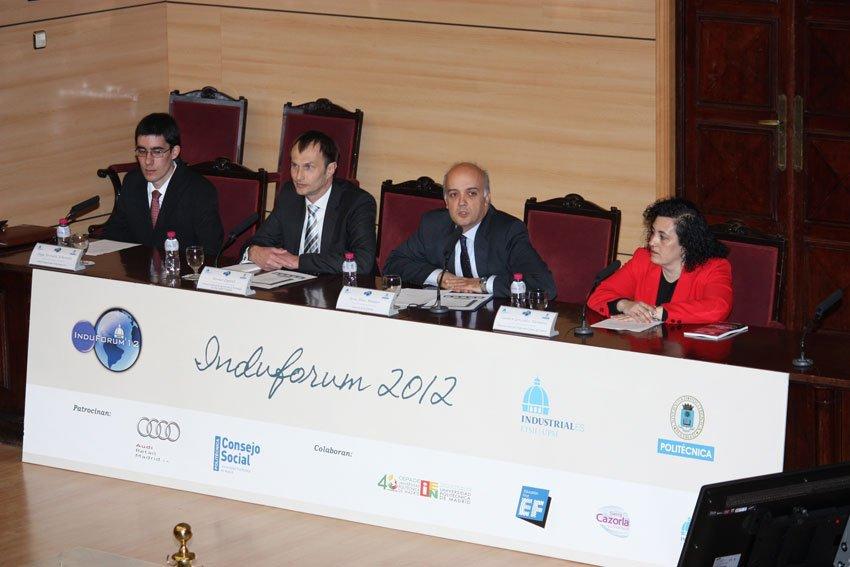Presentación de la Feria de empleo Induforum 2012