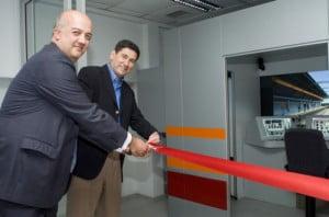 Inauguración por Jesús Félez director de Escuela Industriales