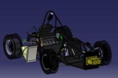 Diseño por ordenador del monoplaza UPM009