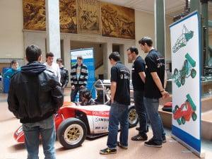 Coche UPM RACING competirá en SIlverstone