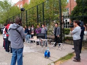 Alumnos de Altas Capacidades visitan EscuelaI ndustriales