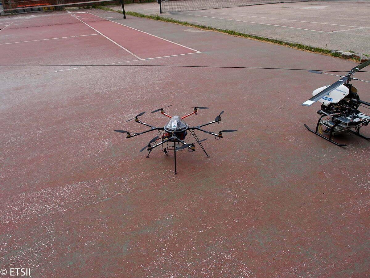 Vehículos Aéreos no tripulados INSIA