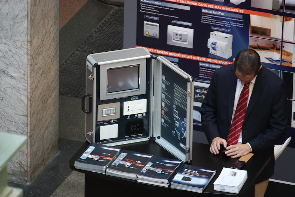 Imagen del congreso de Domótica en Industriales UPM