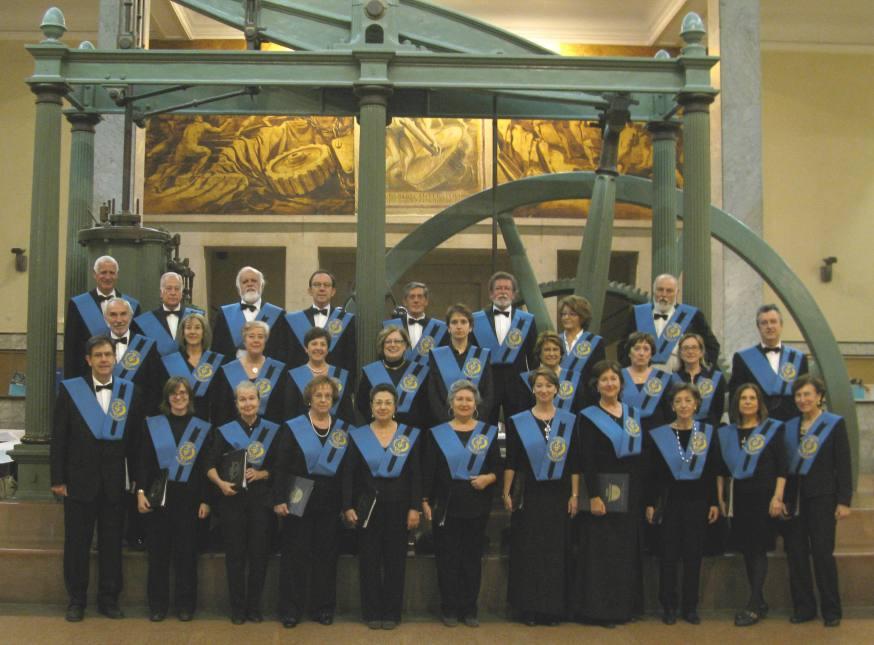 El Coro Semicírculo se fundó en la ETSII