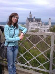 Rocío, alumna de Escuela Industriales UPM durante su Erasmus