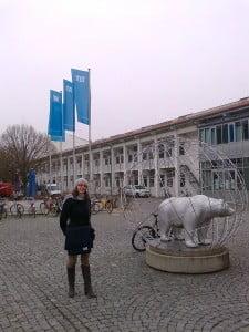 Rocio, estudiante de Industriales UPM