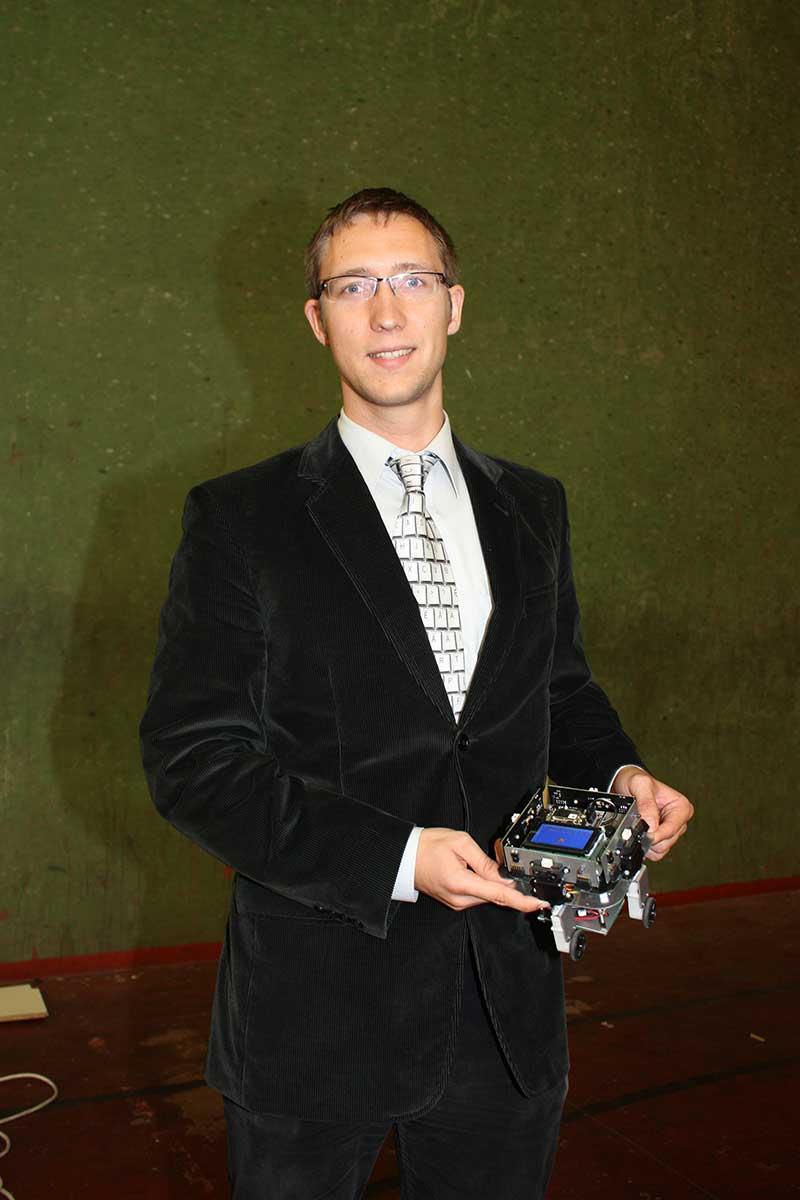 Krzysztof Kwiatkowski participó en Cybertech