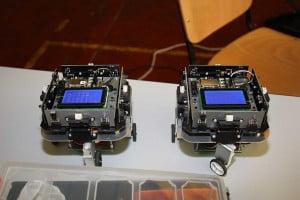 Robots de la competición Cybertech