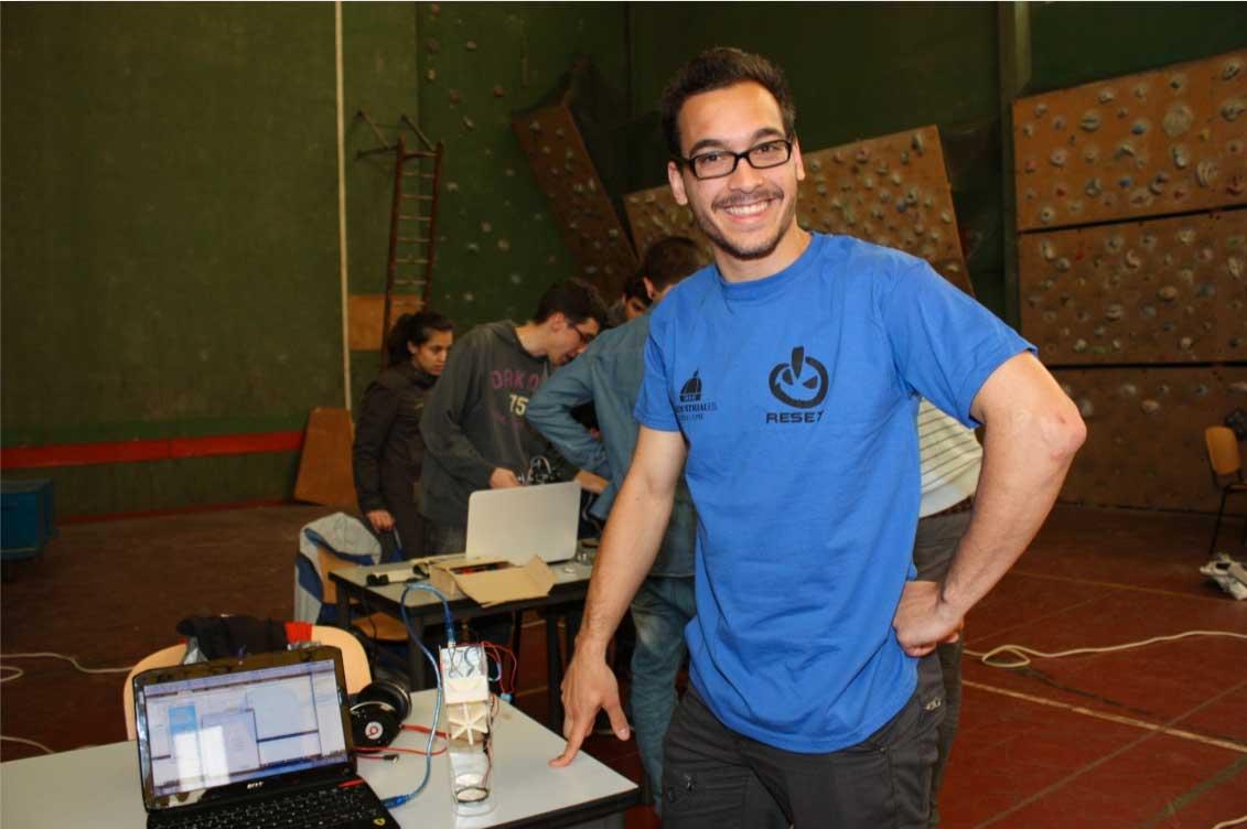 Robotica la competición Cybertech