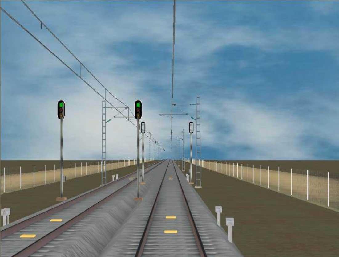 Imagen del tren virtual
