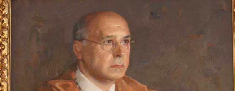 Retrato de Carlos Vera en Industriales UPM