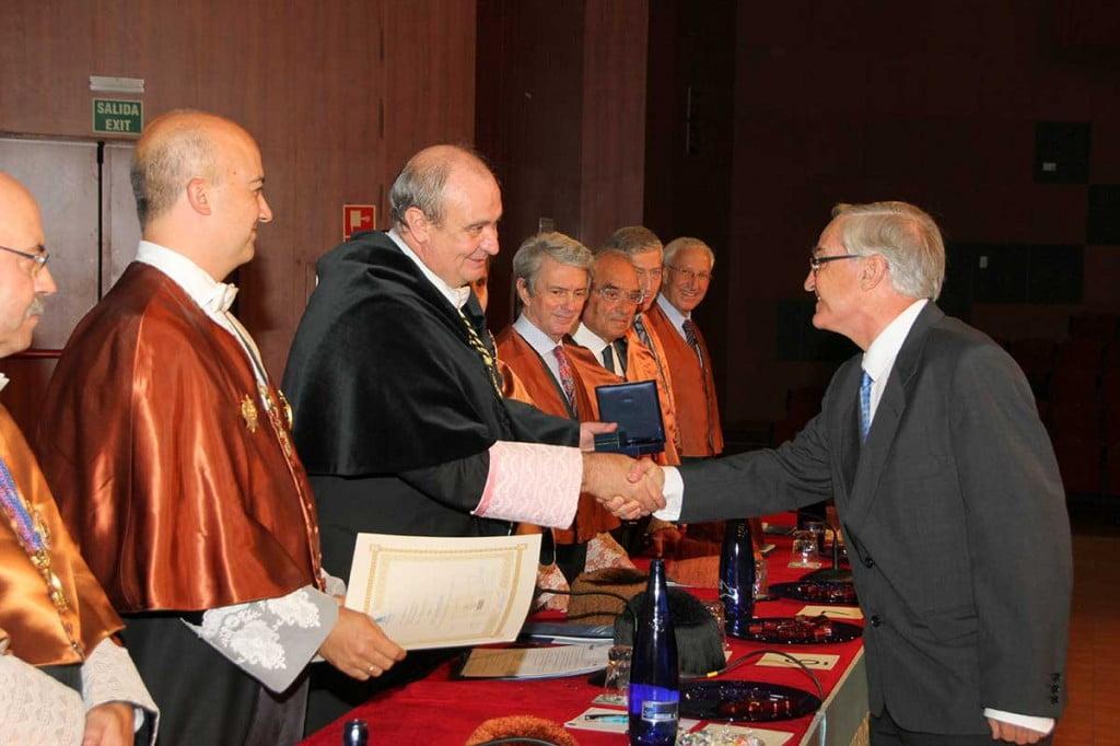 Premio a Carlos Otero en Industriales UPM