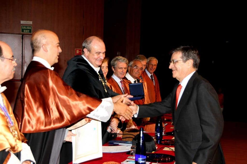 Premio en Industriales UPM a Rafael Díaz