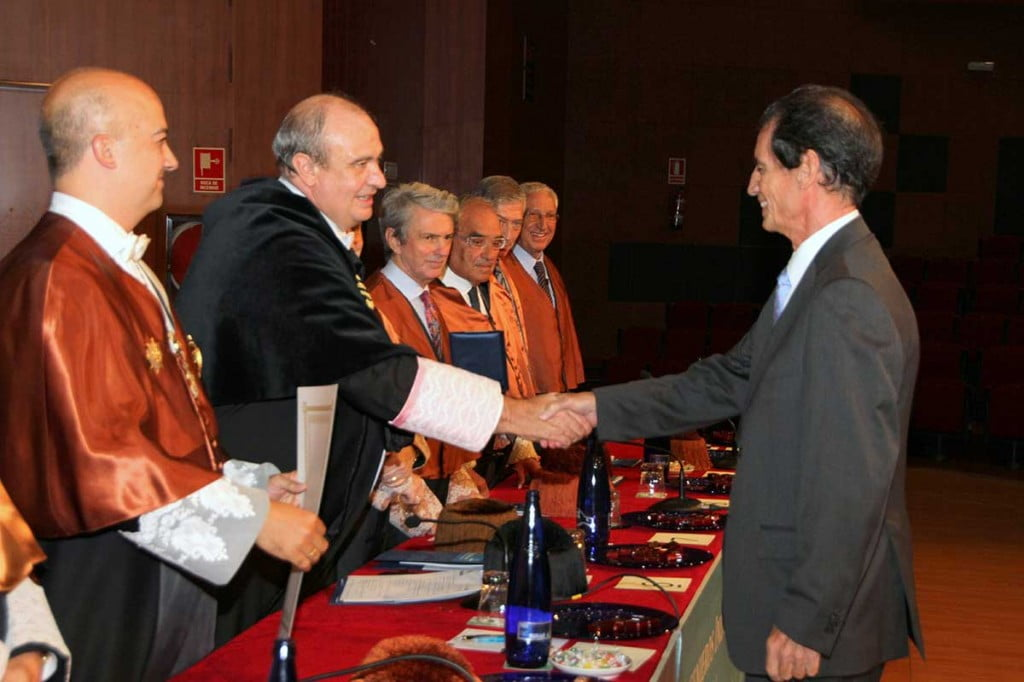 Premio a Jose María Martín en Industriales