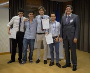 Medalla de plata en la Competición Europea de Ingeniería BEST