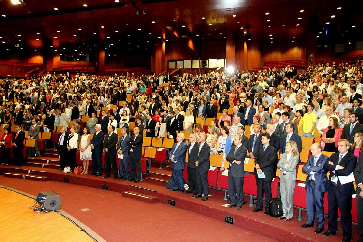 Acto de Entrega de Diplomas de la ETSI Industriales de la UPM