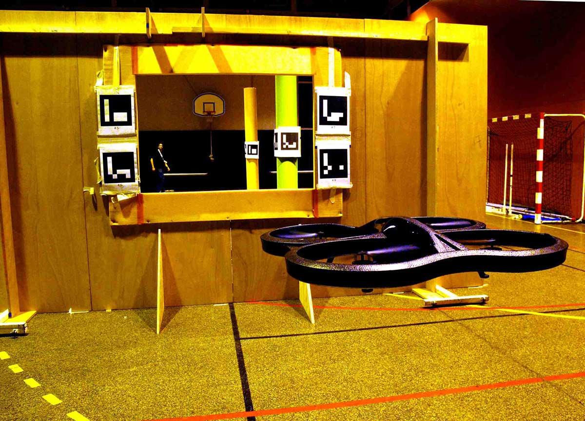 El grupo de Investigación del Centro de Automática y Robótica se alza en la competición IMAV 2013