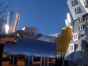 Detalle del MIT, donde Silvia Gutiez sigue con sus estudios