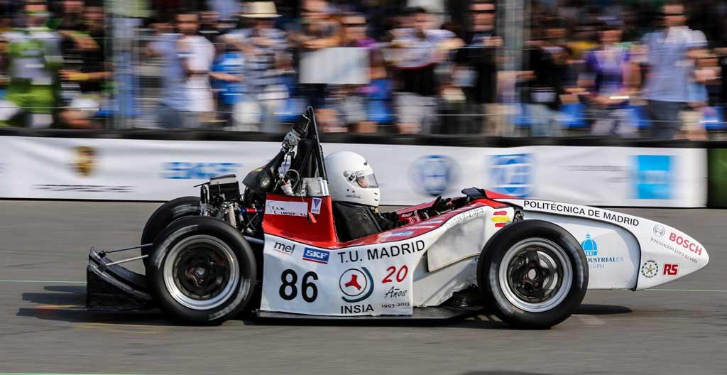 El vehículo eléctrico en competición