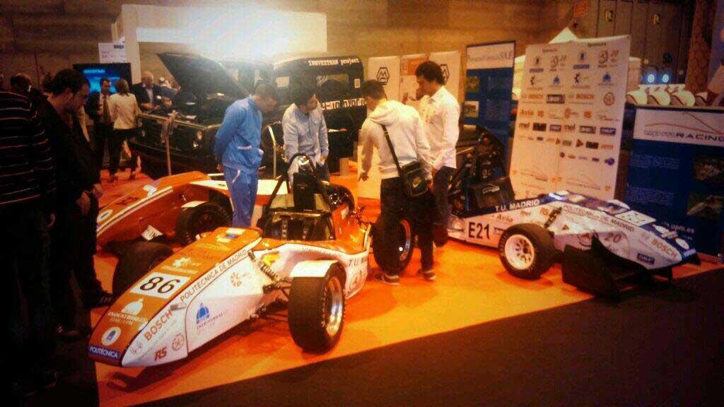 El vehículo eléctrico de Racing UPM