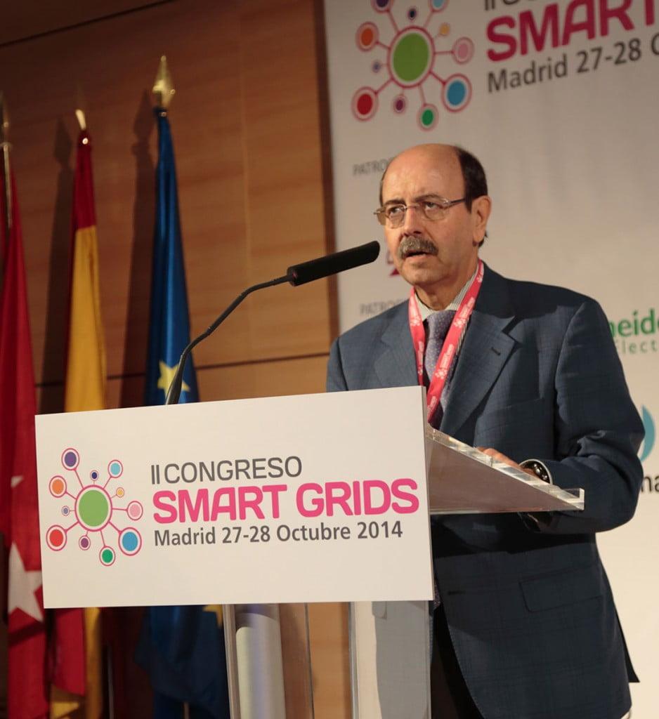 Emilio Minguez durante el Congreso Smart Grids