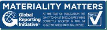 Certificado GRI de Responsabilidad Social