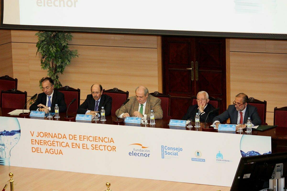 Jornada de Eficiencia Energética en el Sector del Agua