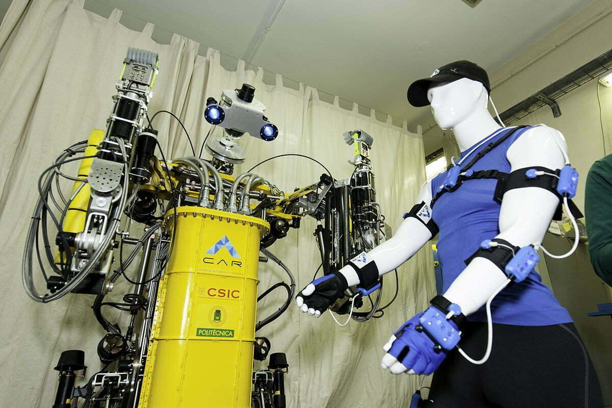 Carlitos, un robot submarinista