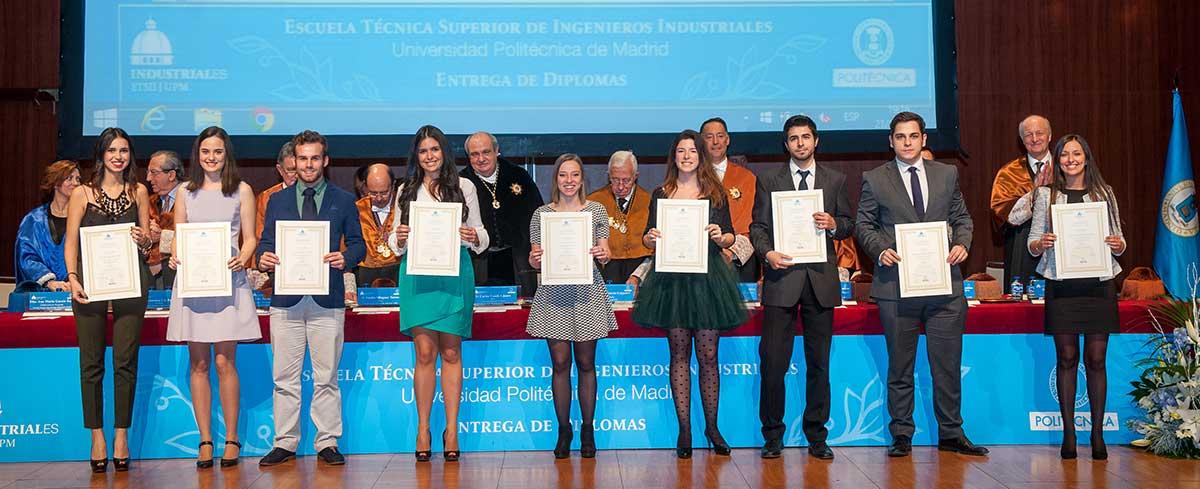 Entrega de Diplomas ETSII