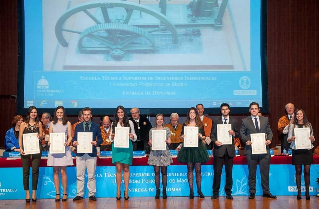 Entrega de Diplomas 2015 - ETSI Industriales