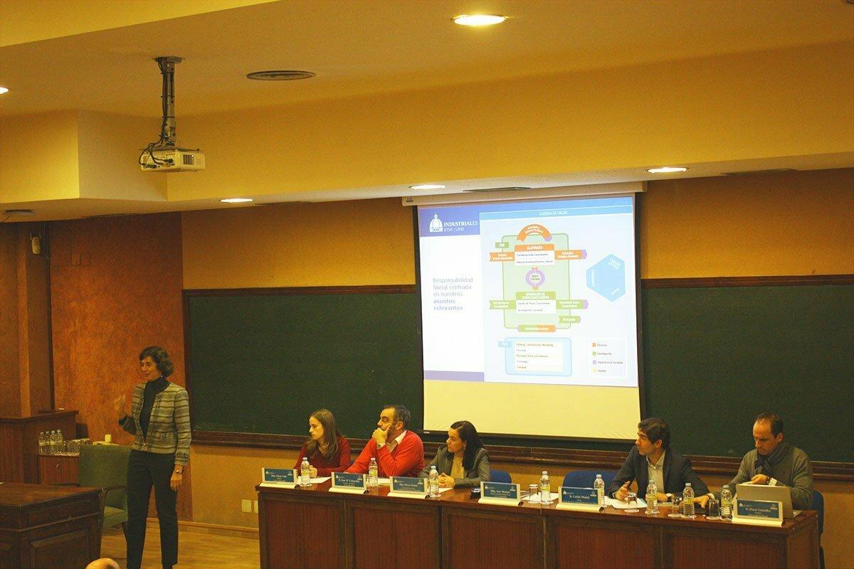 Presentación Memoria RSU Escuela Industriales UPM