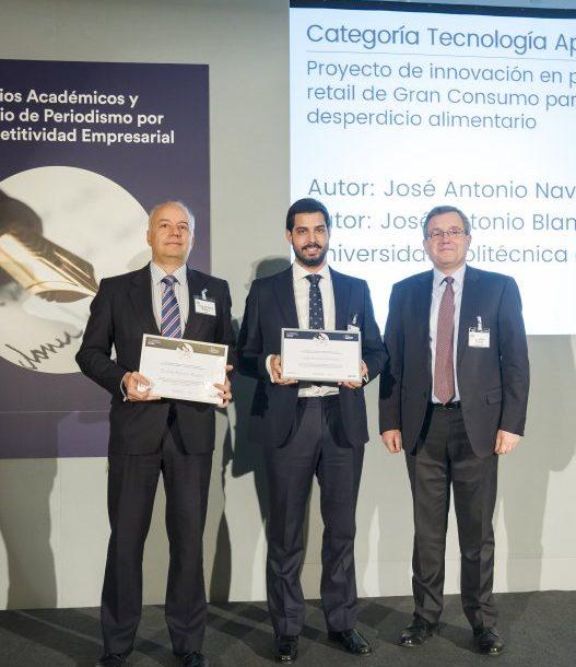 Entrega de Premio Industriales UPM